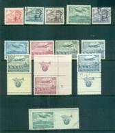 Czechoslovakia 1946-47 Air Mail = Labels (4) FU Lot69917 - Czechoslovakia