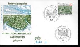 ALLEMAGNE  FDC    1970  Sarrebrucken - Vacances & Tourisme