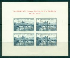 Czechoslovakia 1950 Prague Views 1.50k MS MUH Lot38147 - Czechoslovakia