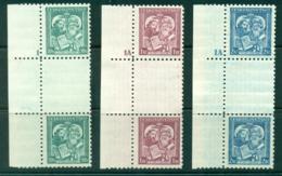 Czechoslovakia 1935 Sts Cyril & Methodius Gutter Plate # Pairs MUH Lot38022 - Czechoslovakia