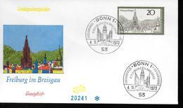 ALLEMAGNE FDC 1970  Freiburg - Vacances & Tourisme