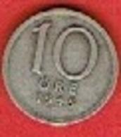 SWEDEN #  10 ØRE FROM 1945 - Suède