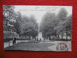 BELGIQUE MALINES BOULEVARD ET STATUE VAN BENEDEN - Mechelen