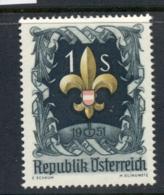 Austria 1951 Boy Scouts MUH - 1945-.... 2nd Republic