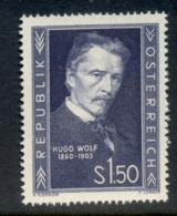 Austria 1953 Hugo Wolf MUH - 1945-.... 2nd Republic