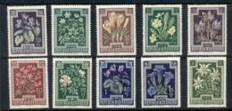 Austria 1948 Flowers MUH - 1945-.... 2nd Republic