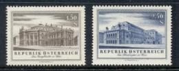 Austria 1955 BurgTheatre & Operahouse MUH - 1945-.... 2nd Republic