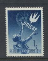 Austria 1949 UNICEF MUH - 1945-.... 2nd Republic