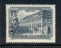 Austria 1953 State Theatre Linz MUH - 1945-.... 2nd Republic