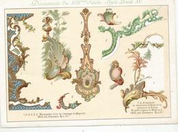 DOCUMENTS DU XVIII ° SIECLE - STYLE LOUIS XV - Autres Collections