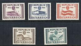 Austria 1955 Liberation 10th Anniv. MUH - 1945-.... 2nd Republic