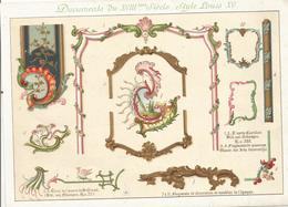 DOCUMENTS DU XVIII ° SIECLE - STYLE LOUIS XV - Meubles