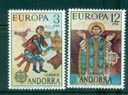 Andorra (Sp) 1975 Europa, Paintings MUH Lot65600 - Spanish Andorra