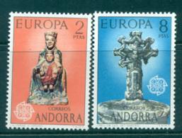 Andorra (Sp) 1974 Europa, Sculpture MUH Lot65578 - Spanish Andorra