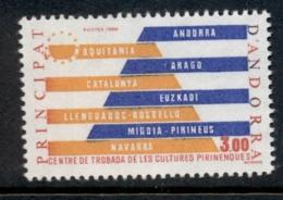 Andorra (Fr) 1984 Pyrenees Art Centre MUH - French Andorra