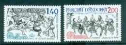 Andorra (Fr) 1981 Europa, Folklore MUH Lot65807 - French Andorra