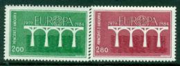Andorra (Fr) 1984 Europa MUH Lot16023 - French Andorra