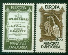 Andorra (Fr) 1985 Europa MUH Lot16025 - French Andorra