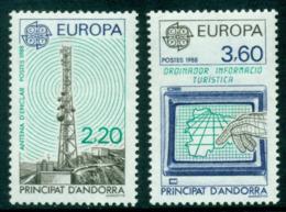 Andorra (Fr) 1988 Europa MUH Lot16028 - French Andorra