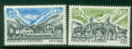 Andorra (Fr) 1986 Europa MUH Lot16026 - French Andorra