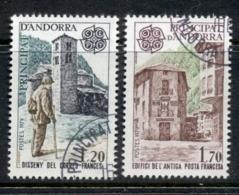 Andorra (Fr) 1979 Europa Mail Services CTO - French Andorra