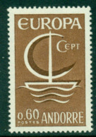 Andorra (Fr) 1966 Europa MUH Lot16001 - French Andorra