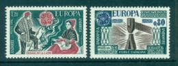 Andorra (Fr) 1976 Europa, Pottery MUH Lot65625 - French Andorra