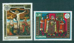 Andorra (Fr) 1975 Europa, Paintings MUH Lot65603 - French Andorra