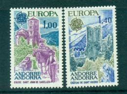 Andorra (Fr) 1977 Europa, Landcapes MUH Lot65653 - French Andorra