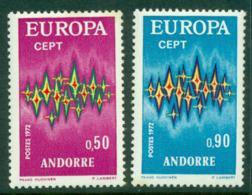 Andorra (Fr) 1972 Europa MUH Lot16007 - French Andorra