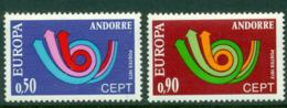 Andorra (Fr) 1973 Europa MUH Lot16008 - French Andorra