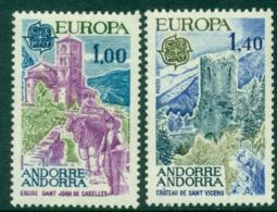 Andorra (Fr) 1977 Europa MUH Lot16012 - French Andorra