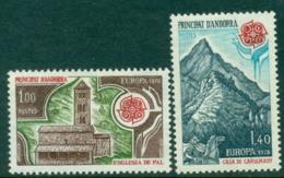 Andorra (Fr) 1978 Europa MUH Lot16014 - French Andorra