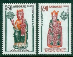 Andorra (Fr) 1974 Europa MUH Lot16009 - French Andorra