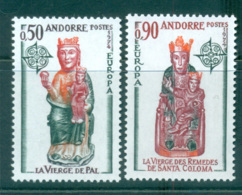 Andorra (Fr) 1974 Europa, Sculpture MUH Lot65577 - French Andorra