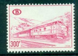 Belgium 1968-73 Railway Stamp 300f MUH Lot83637 - Unclassified