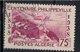 ALGERIE        N°  YVERT    144     OBLITERE       ( O   2/33 ) - Algérie (1924-1962)