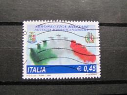 *ITALIA* USATI 2005 - FRECCE TRICOLORI - SASSONE 2836 - LUSSO/FIOR DI STAMPA - 6. 1946-.. Repubblica