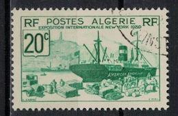 ALGERIE        N°  YVERT    153      OBLITERE       ( O   2/34 ) - Algérie (1924-1962)