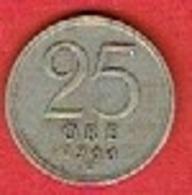 SWEDEN #  25 ØRE FROM 1944 - Suède