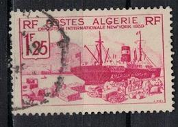 ALGERIE        N°  YVERT    156    (1)   OBLITERE       ( O   2/34 ) - Algérie (1924-1962)