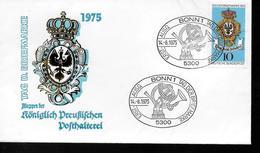 ALLEMAGNE    FDC   1975   Poste Royale - Poste