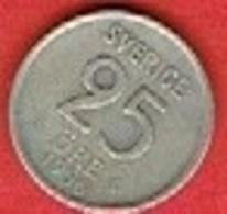 SWEDEN #  25 ØRE FROM 1956 - Suède