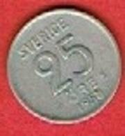 SWEDEN #  25 ØRE FROM 1958 - Suède