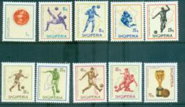 Albania 1966 World Cup Soccer MUH Lot69554 - Albania