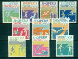 Albania 1964 Tokyo Olympcs MUH Lot69498 - Albania
