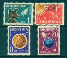 Albania 1962 Russian Space Exploration, Dog Laika CTO Lot69467 - Albania