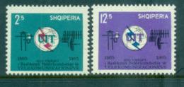 Albania 1965 Centenary Of The ITU MUH Lot69521 - Albania