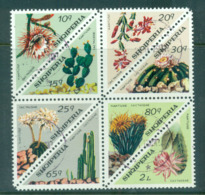 Albania 1973 Flowering Cacti Blk 8 CTO Lot69780 - Albania