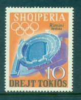 Albania 1964 Rimin Opt On 10l MUH Lot69495 - Albania